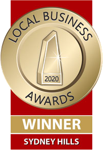 Winner Local Business Awards 2020
