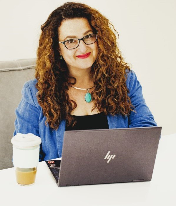 Deb Ricketts owner Versatile VA working laptop Hills District Sydney