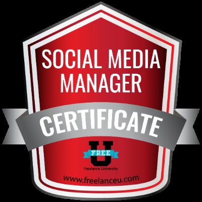 Social Media Manager Certificate